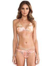 Tallow | Elysium Tri Bikini | Lyst