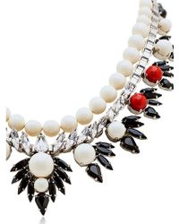 Ellen Conde - Dipped In Rhodium Necklace - Lyst