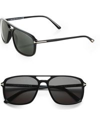 Tom Ford Terry 58mm Acetate Sunglasses - Lyst