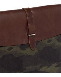 Seventy Eight Percent - 'leo' Camouflage Canvas Document Holder - Lyst