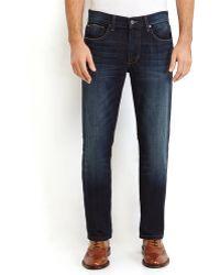 Joe's Jeans Dark Wash Brixton Straight Leg Jeans - Lyst