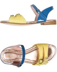 Opening Ceremony Yellow Sandals - Lyst