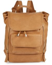 Kensie - Zip-accent Faux Leather Backpack - Lyst