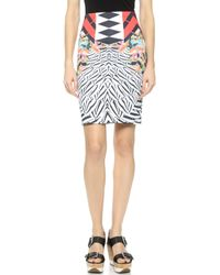 Clover Canyon Toucan Pencil Skirt - Red - Lyst