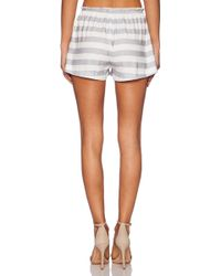 State Of Being - Marle Stripe Short - Lyst