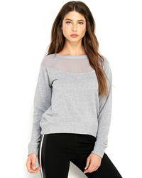 Rampage Lurex Sweatshirt - Lyst