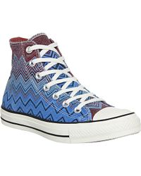 Converse Chuck Taylor X Missoni High Top Trainers - For Men - Lyst