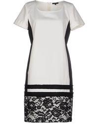 Silk And Soie - Short Dress - Lyst