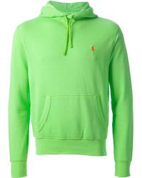 Ralph Lauren Blue Label Classic Hooded Sweater - Lyst