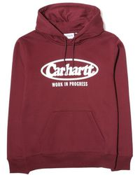 Carhartt WIP - Hooded Oval Sweatshirt - Lyst