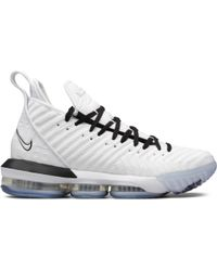 Lyst - Nike Max Lebron 11 Low in White for Men 4dfc7371a