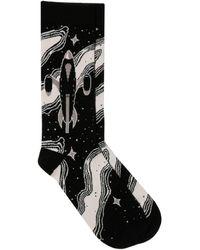 Maison Kitsuné - Jacquard Dream Socks - Lyst