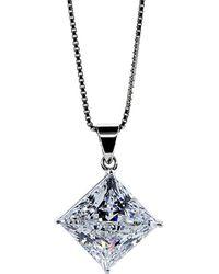 Carat* | Princess 1.25ct Pendant Necklace | Lyst