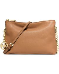 MICHAEL Michael Kors Leather Shoulder Bag - Lyst