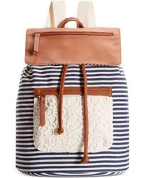 Madden Girl Blue Posey Backpack - Lyst