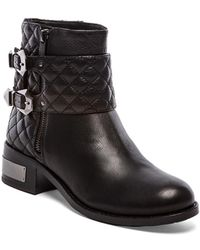 Vince Camuto Black Winta Boot - Lyst