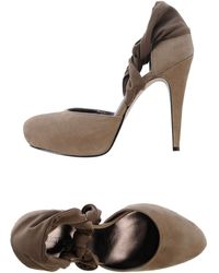 Nine West Court khaki - Lyst