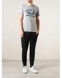 Polo Ralph Lauren Gray Printed Tshirt - Lyst
