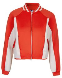 Topshop Sport Spacer Bomber Jacket By Adidas Stellasport - Lyst