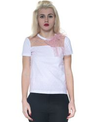 Red Valentino | Bonded T-shirt | Lyst