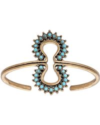 Lucky Brand - Heritage Holiday Turquoise Blossom Bracelet - Lyst