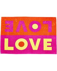 Lisa Perry Double Love Towel - Lyst