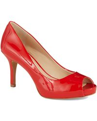 Vince Camuto Kiley Patent Leather Pumps - Lyst