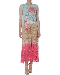 Vdp Dress-Woman-Via-Delle-Perle-Beach - Lyst