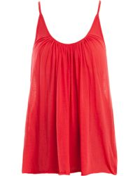 Forte Forte Papavero Camisole red - Lyst