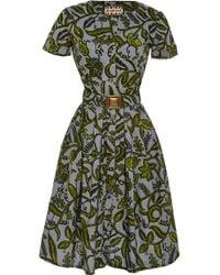 Lena Hoschek Togo Dress in Zamba Zamba Print - Lyst