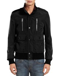 Gucci Padded Iconic Bomber Jacket - Lyst