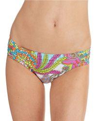 Trina Turk Coral Reef Hipster Swim Bottoms - Lyst