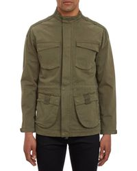 Lot78 Green Army Jacket - Lyst