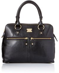 Modalu Pippa Black Tote Bag black - Lyst