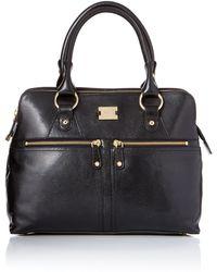 Modalu Pippa Black Tote Bag - Lyst