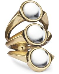 Jenny Bird Orion Ring - Size 6 gold - Lyst