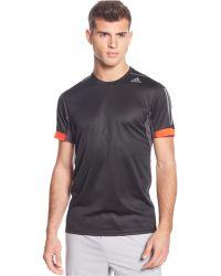 Camiseta con cuello redondo Lyst Adidas con Supernova redondo en negro hombre para hombre abdec84 - hvorvikankobe.website