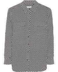 Equipment Slim Signature Printed Washed-silk Shirt - Lyst
