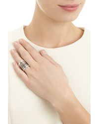 Pamela Love Amethyst And Sterling Silver Path Ring - Lyst