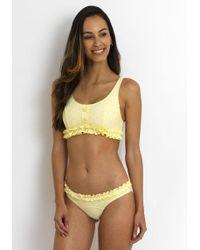 Lisa Marie Fernandez - Colby Bikini Yellow - Lyst