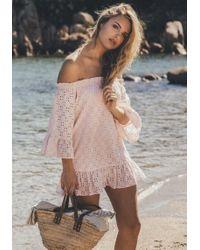 Pampelone - Provence Tunic Pink - Lyst