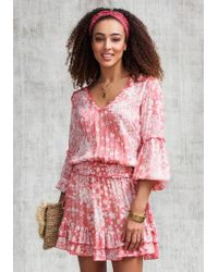 Poupette - Mini Ilona Dress Pink - Lyst