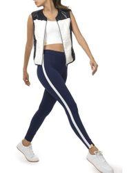 Monreal - Athlete Leggings Indigo/white - Lyst