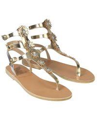 Ancient Greek Sandals - Valentina Sandals Platinum - Lyst