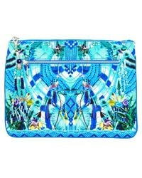 Camilla - Amazon Azure Clutch - Lyst