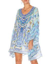Camilla - A Night To Remember Gathered Hem Short Dress - Lyst