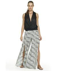 ViX | Pearl Black Berry Trousers | Lyst