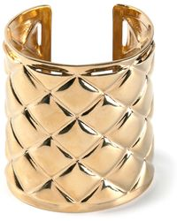 Balmain Patterned Cuff - Lyst