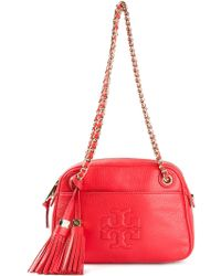 Tory Burch Thea Chain Cross Body Bag - Lyst