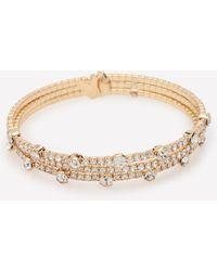 Bebe | Crystal Multi-row Bracelet | Lyst